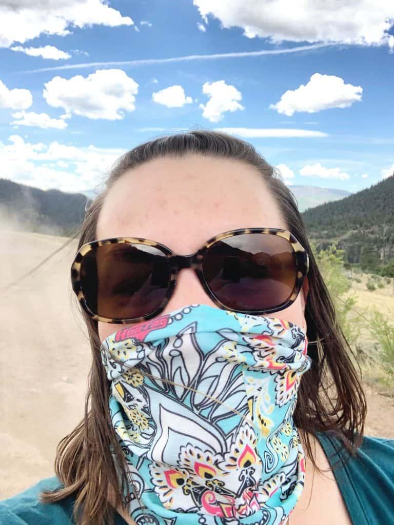 Hoo-Rag Bandanas on ATV Trails