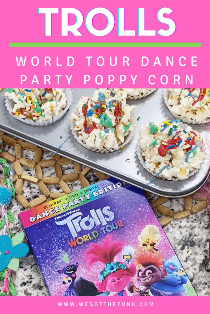 Trolls World Tour Dance Party Poppy Corn