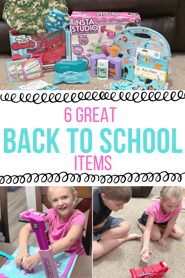 6 Great Back to school items