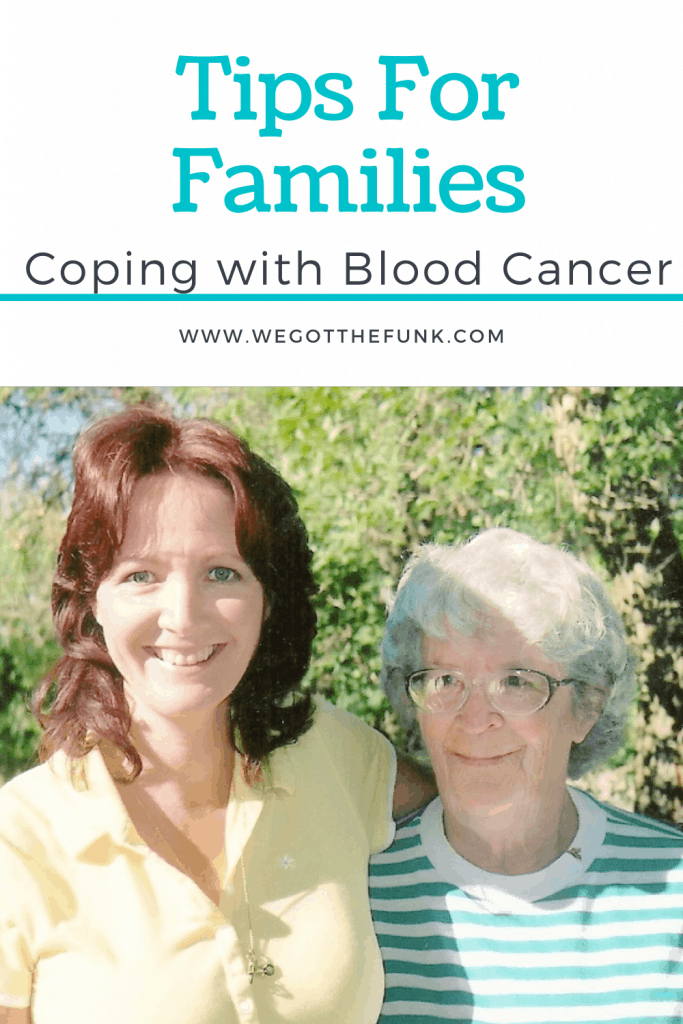 Tips for family coping with blood cancer