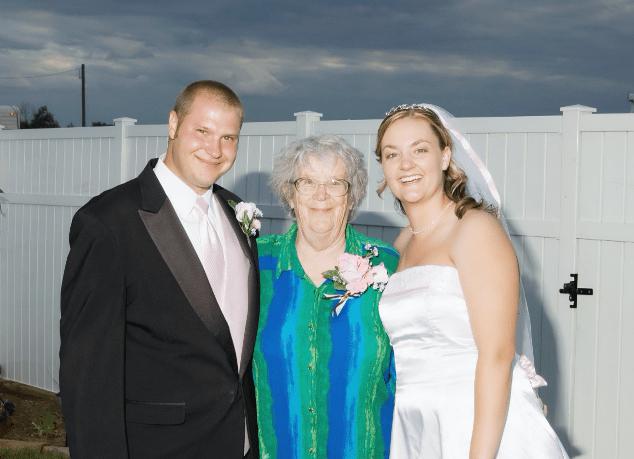 Husband and Wife with Grandma
