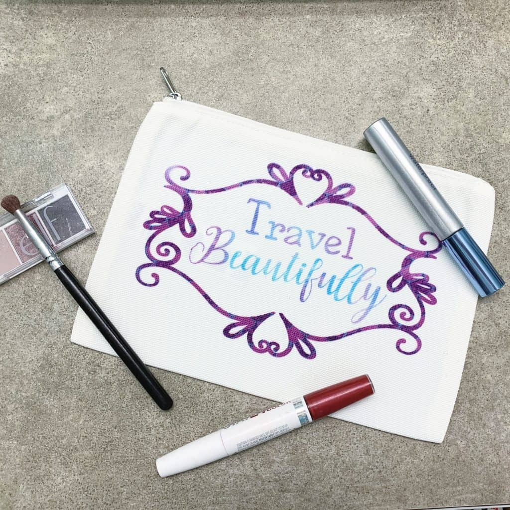 Travel Beautifully Cosmetic Bag