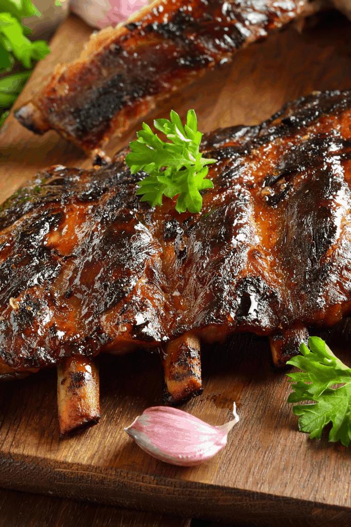 5 ingredient BBQ Ribs