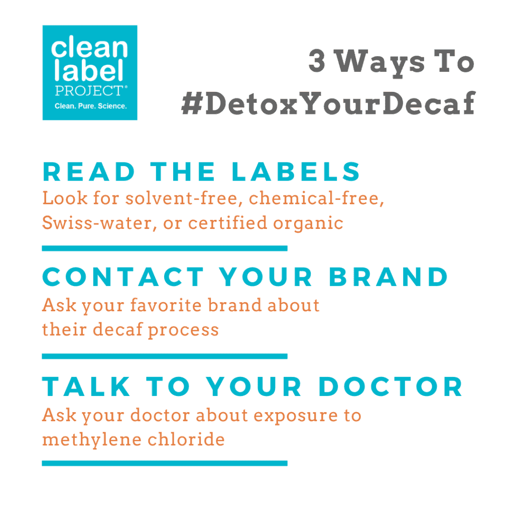 3 Ways to Detox Your Decaf