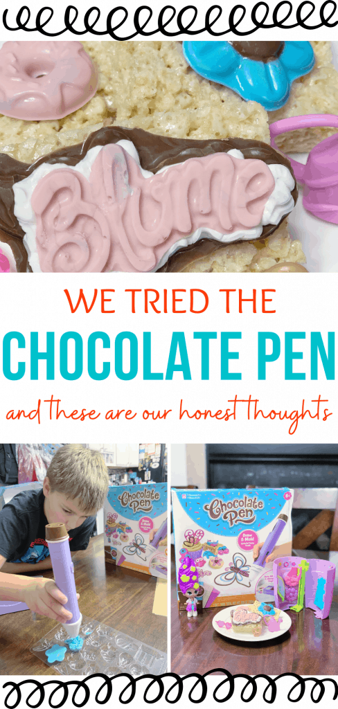 We Tried the Chocolate Pen and these are our honest thoughts