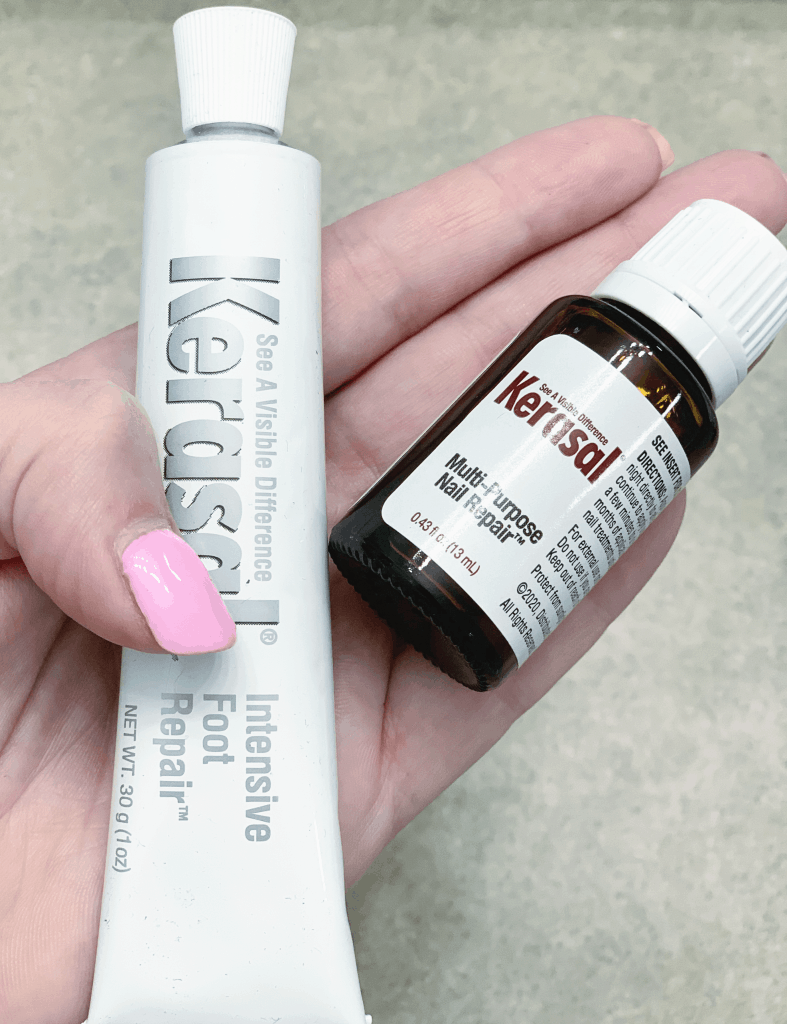 Kerasal skin and nail products