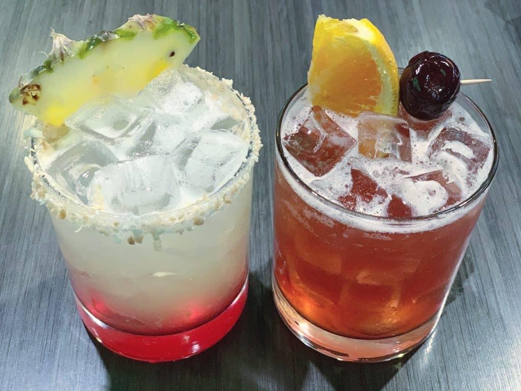 Cocktails at Mellow Mushroom