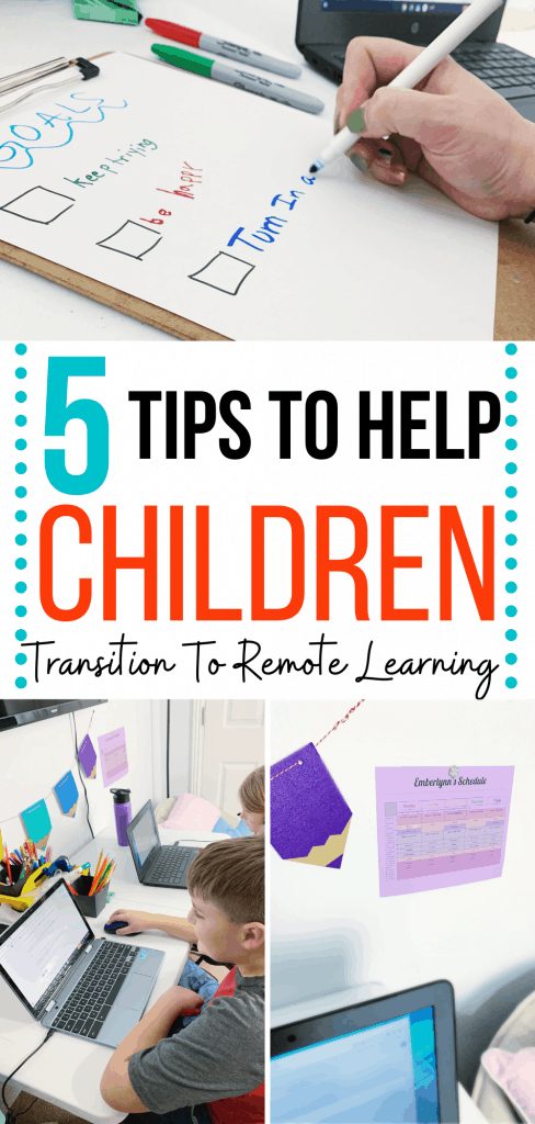 Tips to Help Children Transition to Remote Schooling