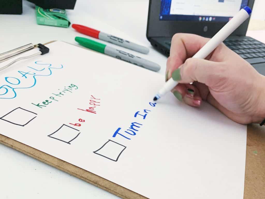 Goal Setting Remote Schooling