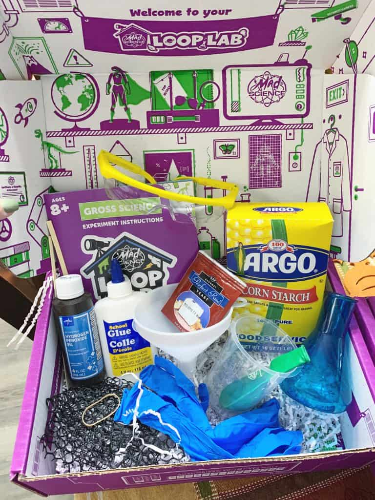 Gross science Loop Lab subscription box