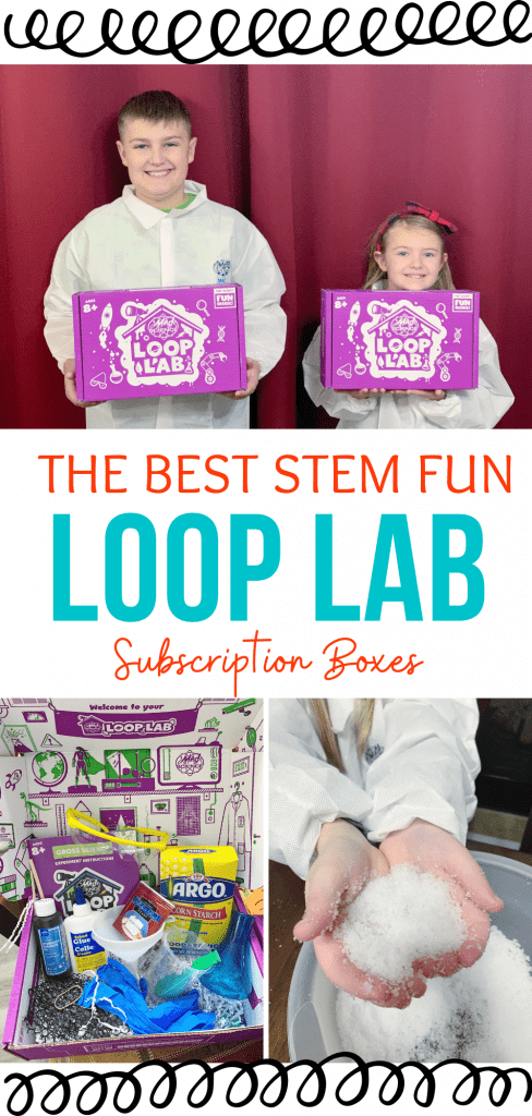 The Best STEM fun is Loop Lab Subscription boxes