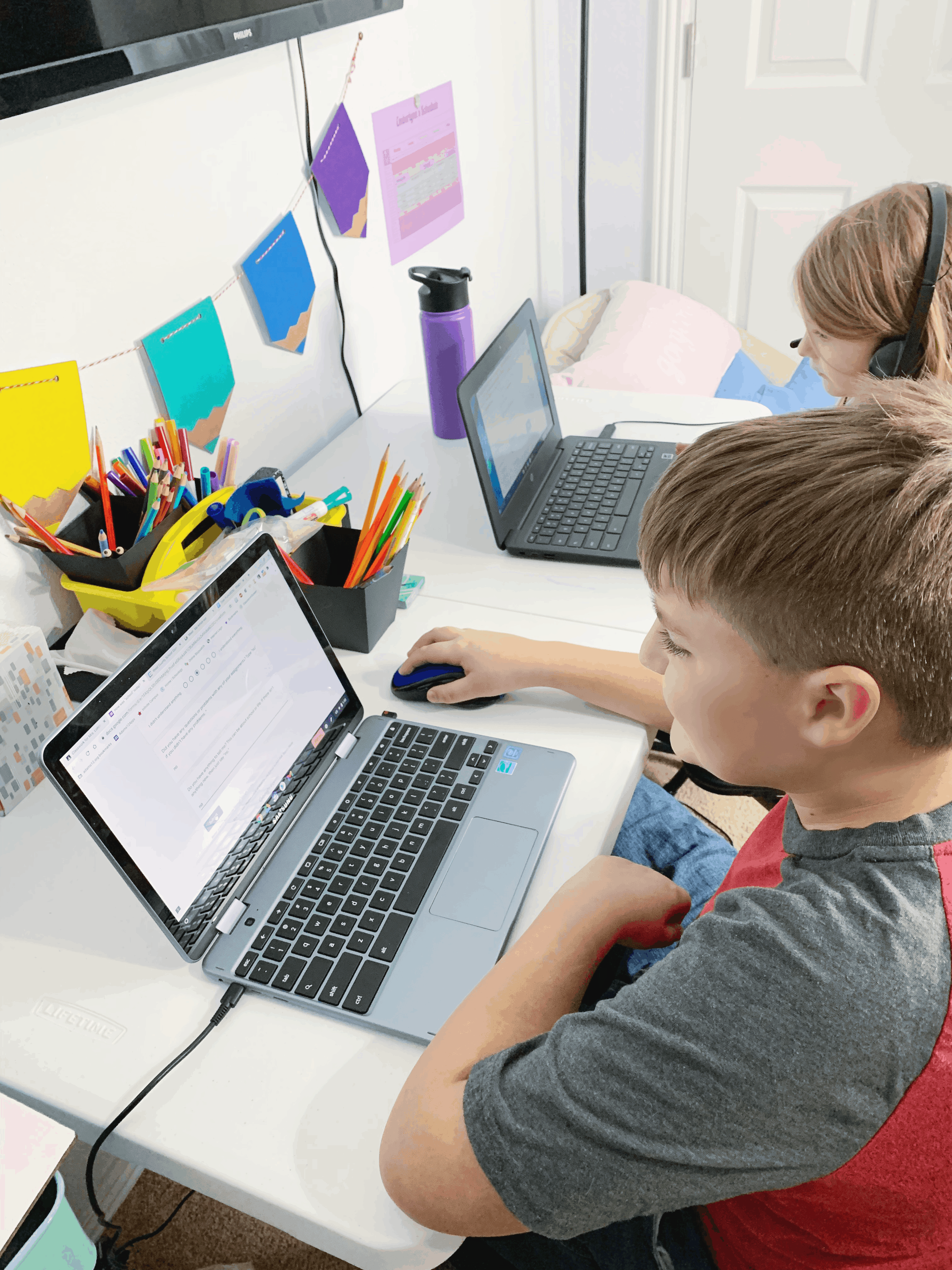 5 Tips to Help Children Transition to Remote Schooling
