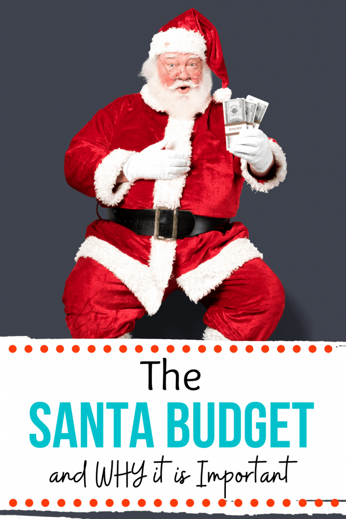 The Santa Budget and Why it is important