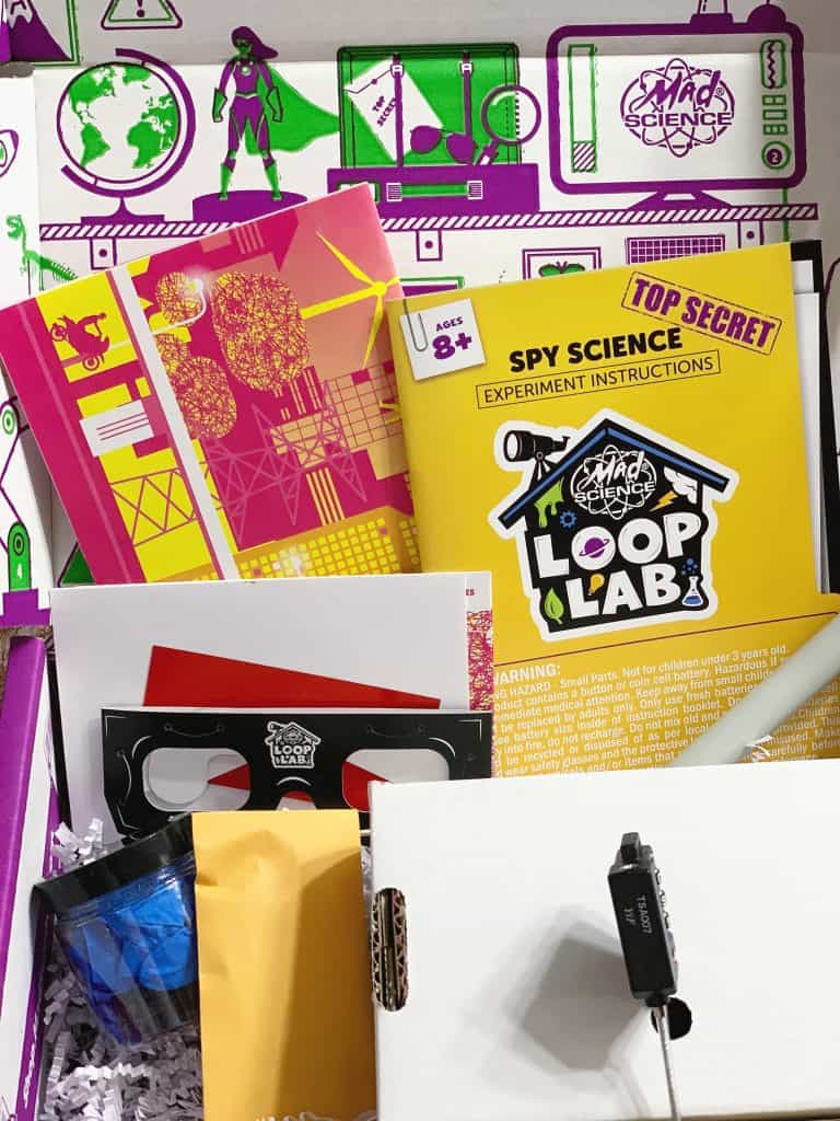 Spy Science Loop Lab Subscription Box