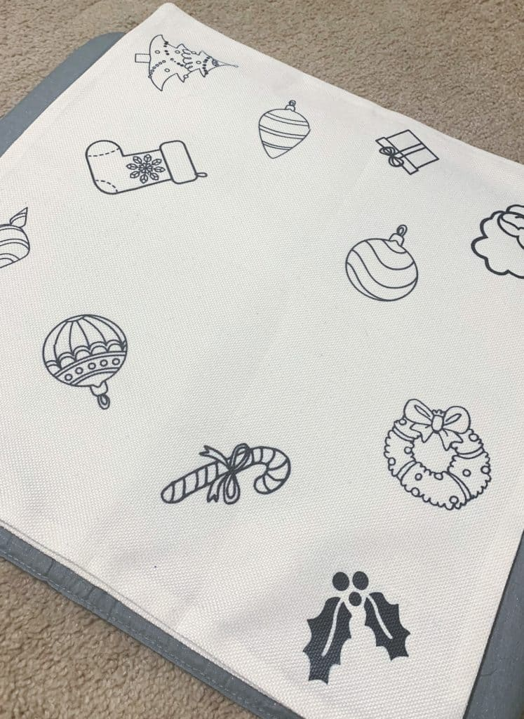 Cricut Pillow Blank with Infusible Ink