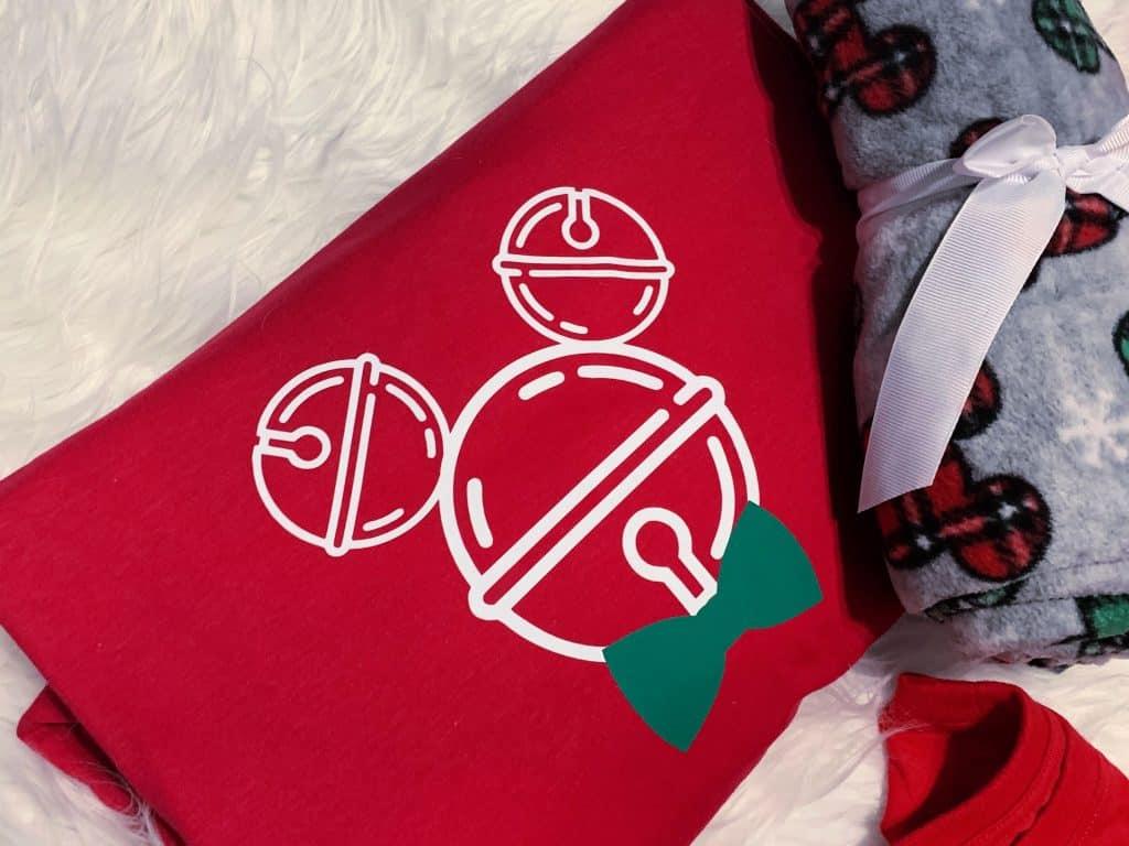 Jingle Bell Mickey Head
