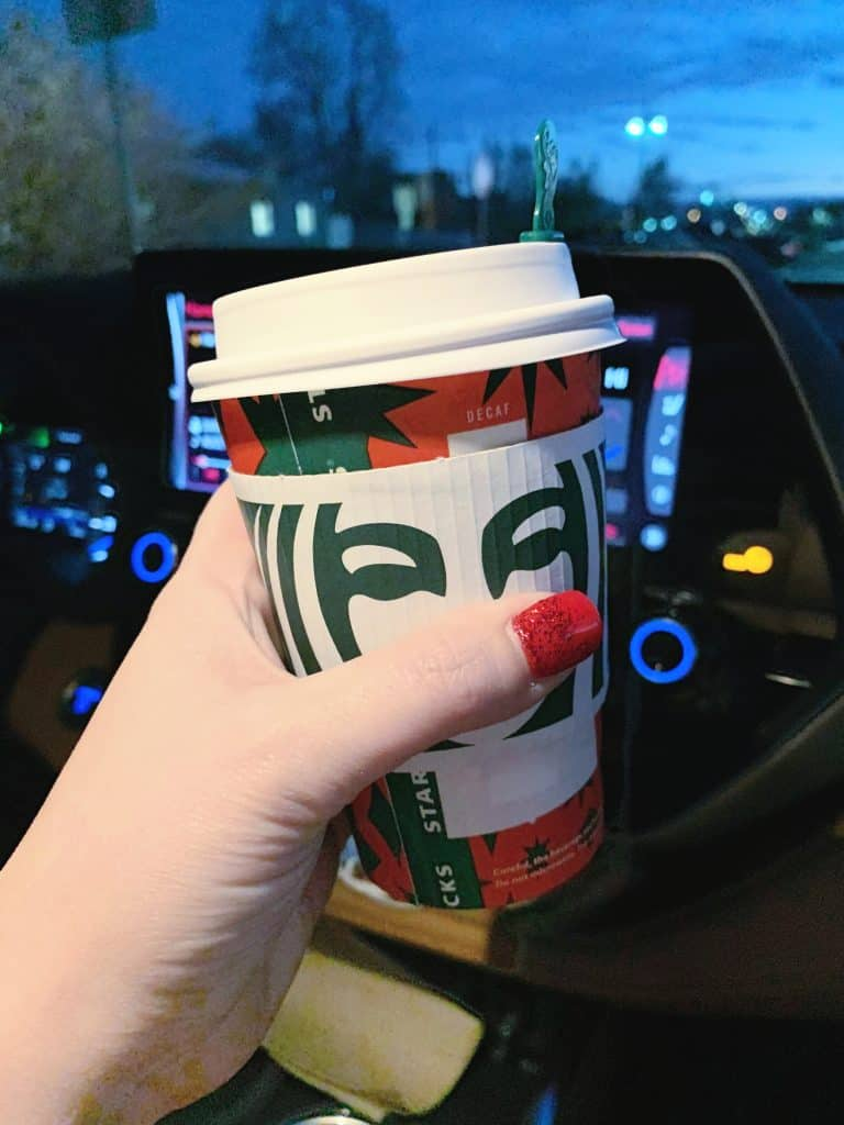 Paying it forward at Starbucks