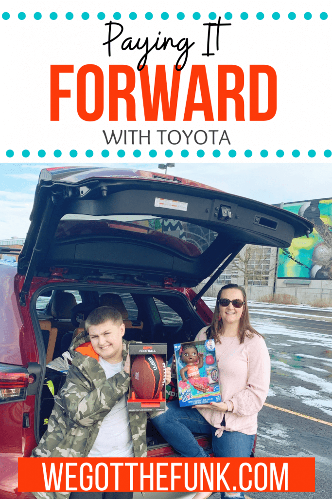 Paying it forward with Toyota