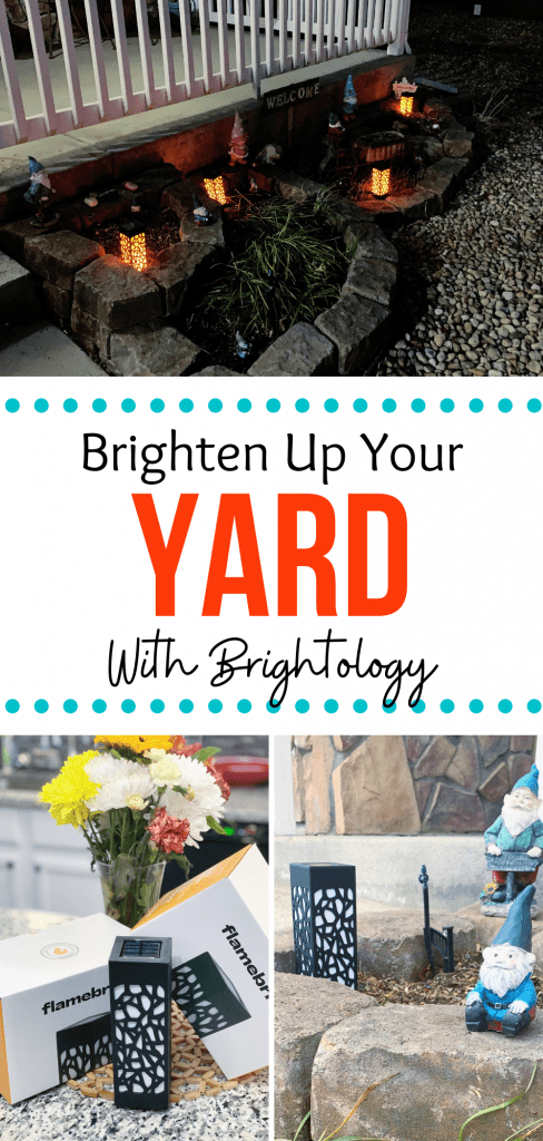 Brightening up the yard with Brightology