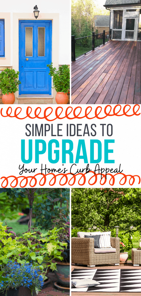 Simple Ideas to upgrade your home's curb appeal