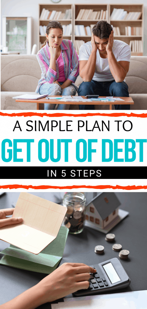 Simple plan to get out of debt