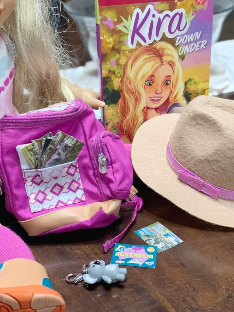 American Girl Kira Bailey Accessories