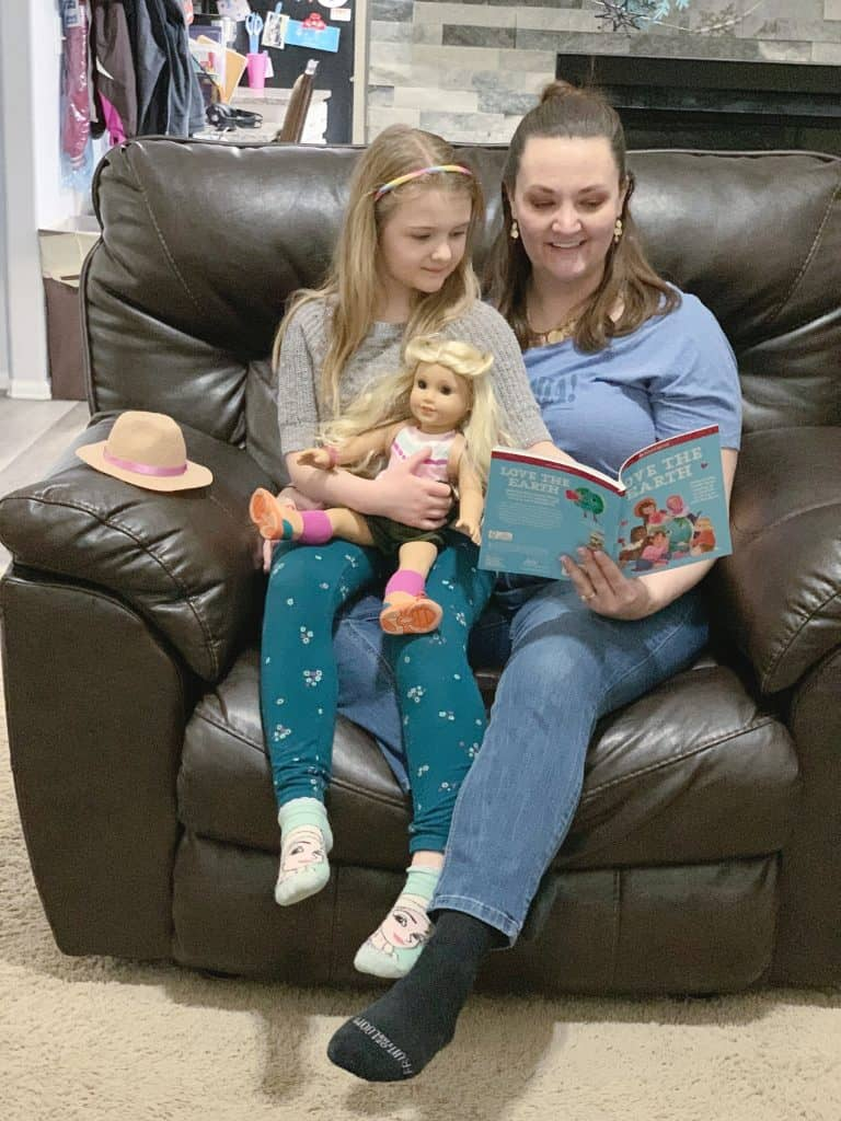 Reading with American Girl