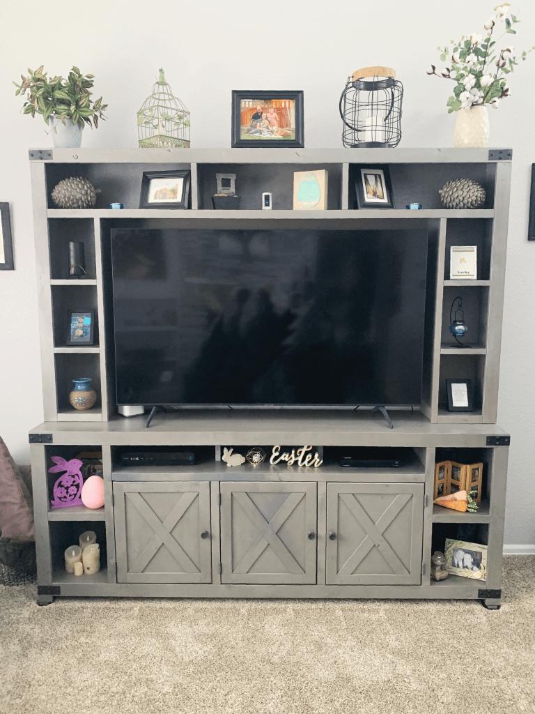 Urban Farmhouse TV Console
