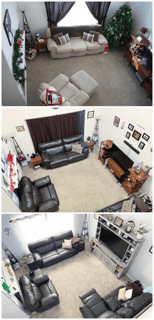 Living Room Progress pictures