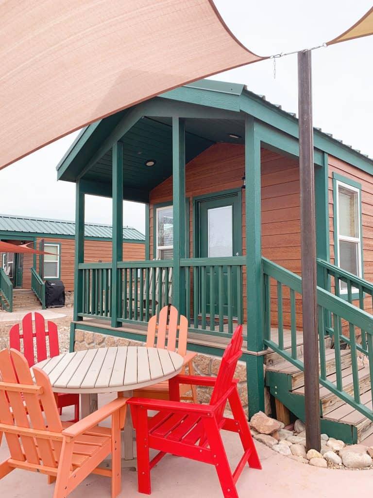 KOA Deluxe Moab Cabins