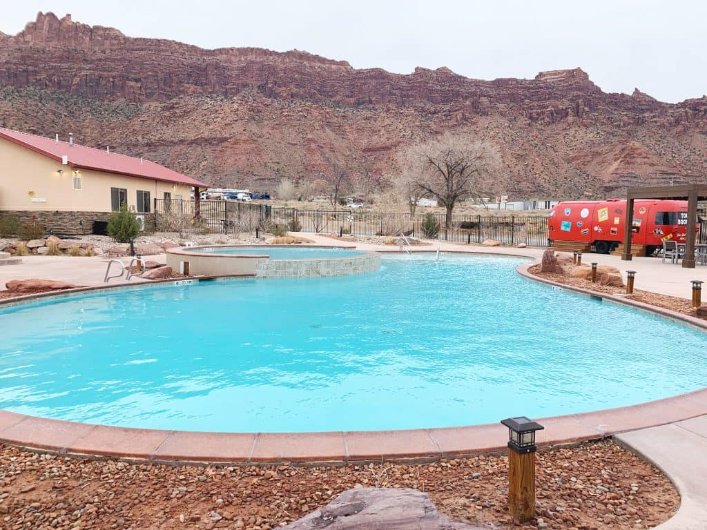 Kampgrounds of America Moab Pool