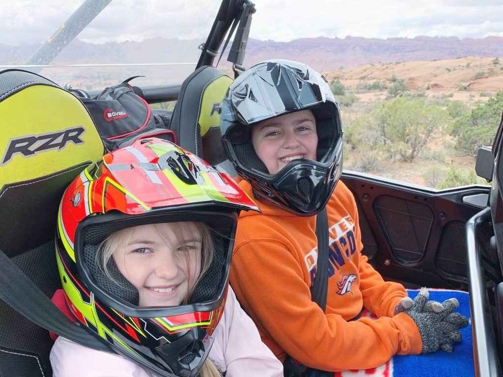 UTVing with Kids in Moab