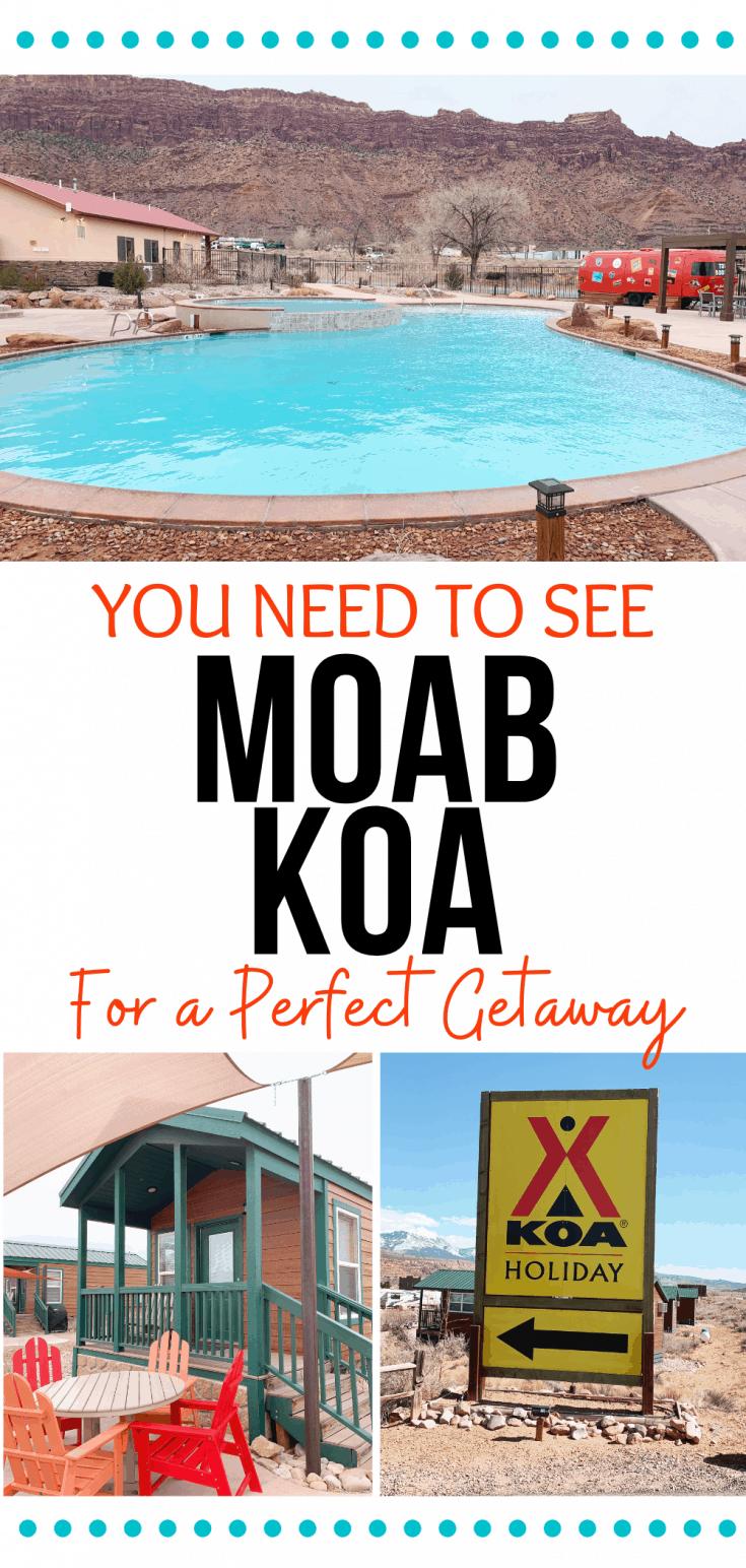 KOA Moab Cabins for a perfect getaway