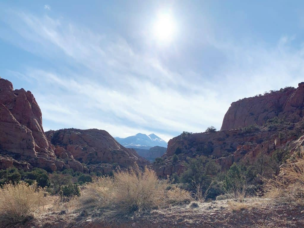 Moab and the Rocky Mountains