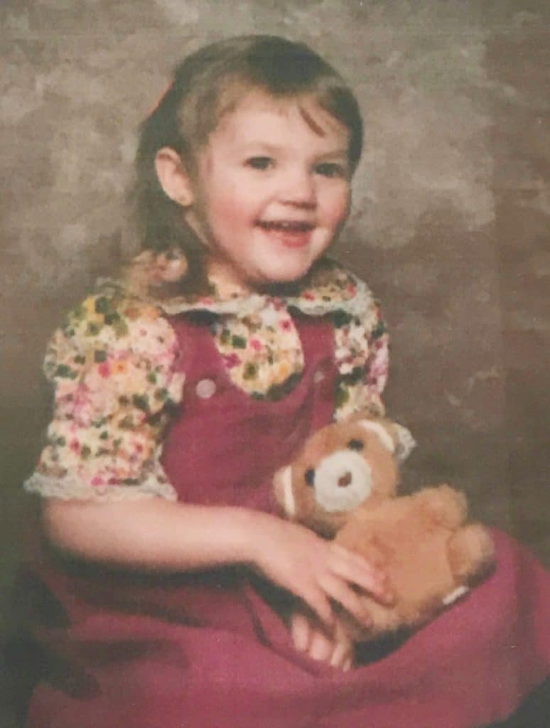 Classic 1980's kid photo
