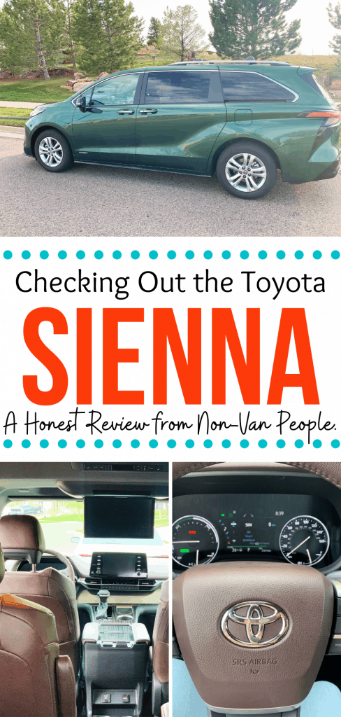 Checking out the 2021 Toyota Sienna Review