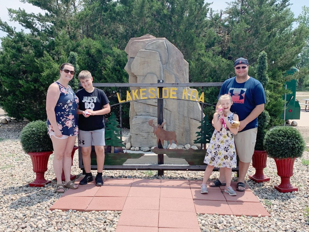 Lakeside KOA Holiday Family