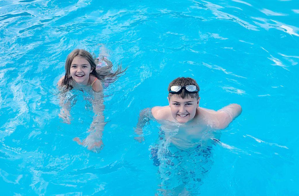 Swimming at KOA