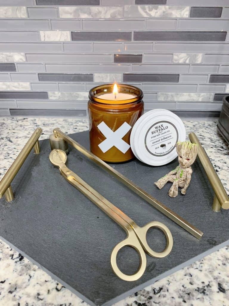 Wax Buffalo Sweet Tobacco candle