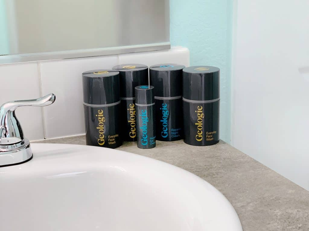 Geologie personalized skincare for men