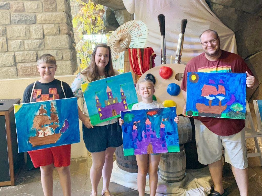 Pirate and princess art studio Gaylord Rockies Summer of more