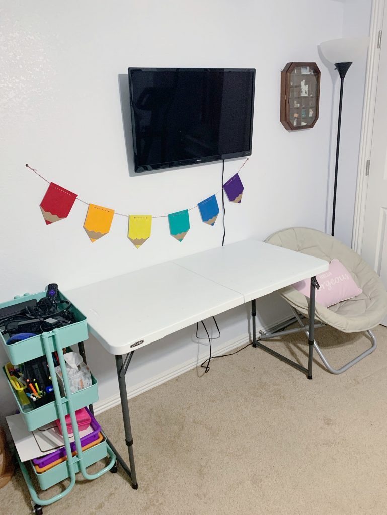 Remote learning space
