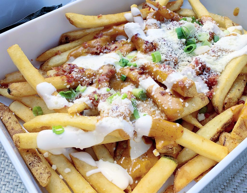 Gaylord Rockies Loaded french fries
