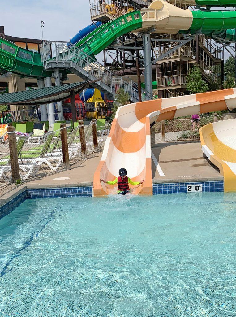 Kid areas at water world