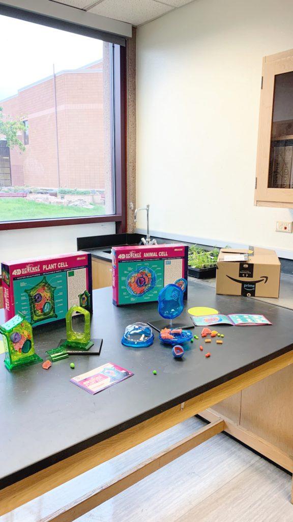 Science classroom supplies