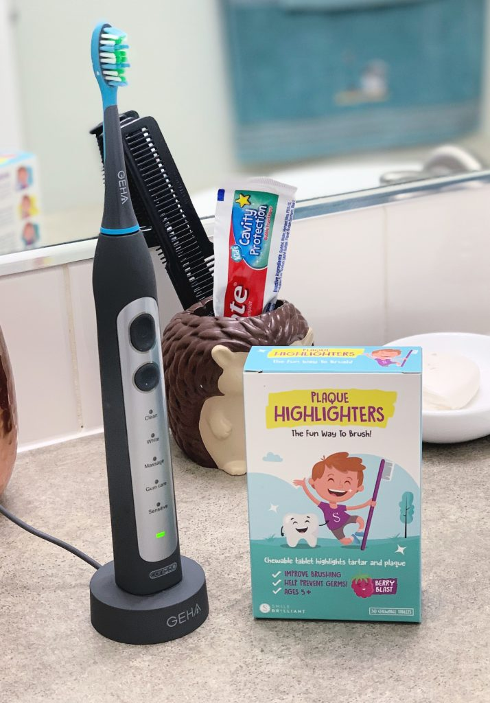 smile brilliant plaque highlighters and cariPRO giveaway