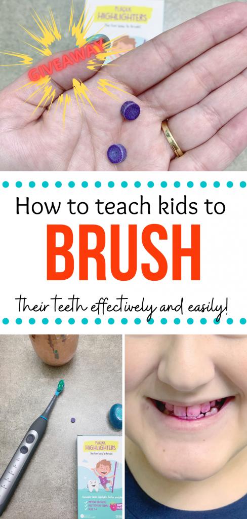 How to teach kids to brush their teeth