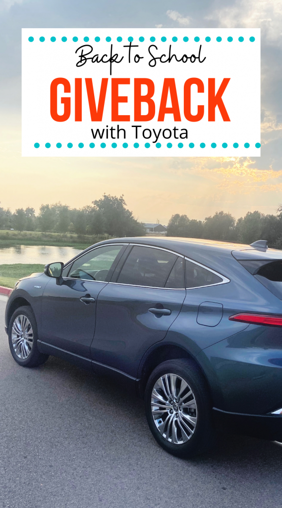 Back to School giveback with Toyota