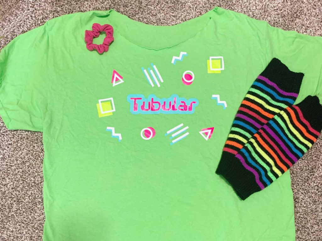 How to make and 80s inspired shirt