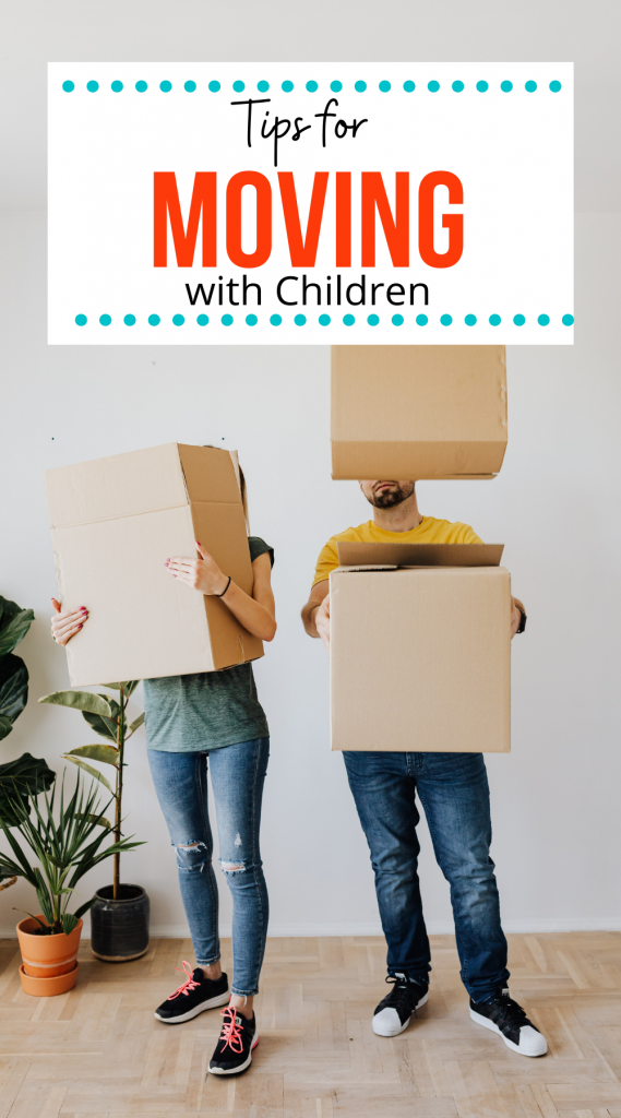 Tips for Moving with children.